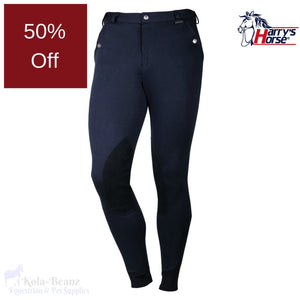 Harrys Horse Mens Breeches - Navy - Mens Breeches
