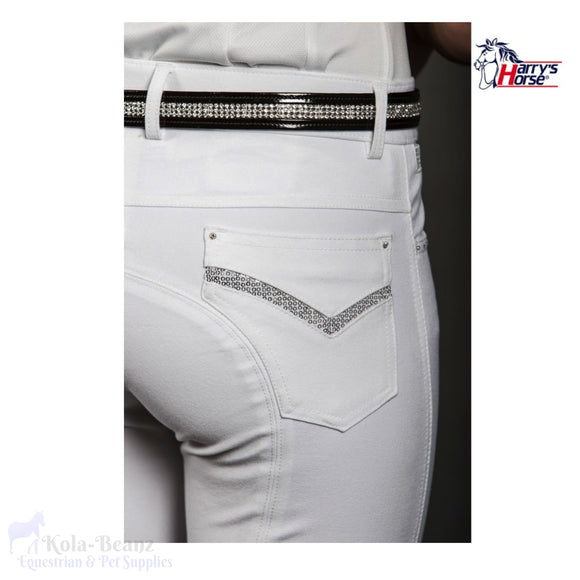 Harrys Horse Silicone Competition Breeches - Ladies Breeches Hunting Competition