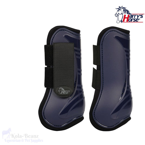 Harrys Horse Tendon Boots - Navy - Tendon Boots
