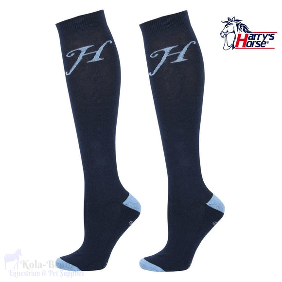 Harrys Horse Uni Socks - Navy - Ladies Socks
