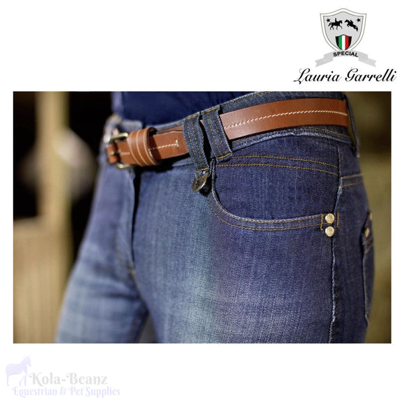 Lauria Garrelli Roma Denium Breeches - Ladies