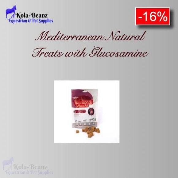 Mediterranean Natural Functional Treats With Added Glucosamine - Dog