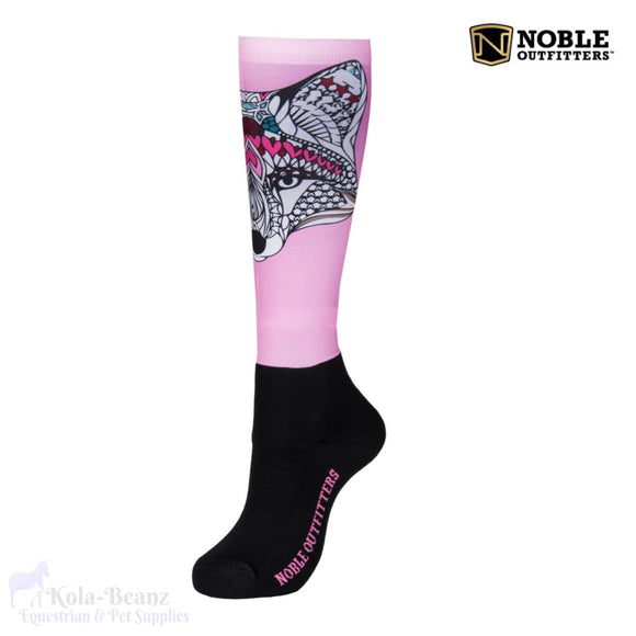 Noble Outfitters Over The Calf Peddies - Lone Fox - Ladies Socks