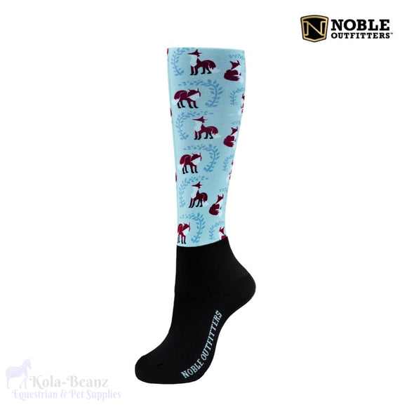 Noble Outfitters Over The Calf Peddies - Pastel - Ladies Socks