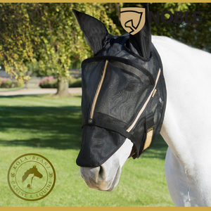 Noble Outfitters Guardsman Fly Mask With Ears - Horse Fly Masks