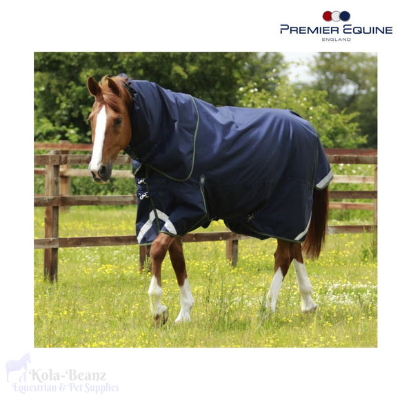 Premier Equine - Buster Titan 40 With Neck Cover - Turnout Rug
