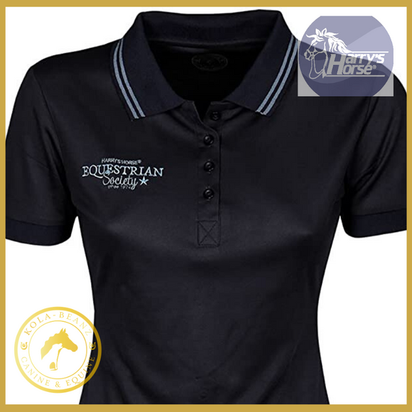 Harry's Horse Blueberry Polo Shirt