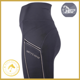 Harrys Horse Black EquiTight Grip Breeches - Riding Tights