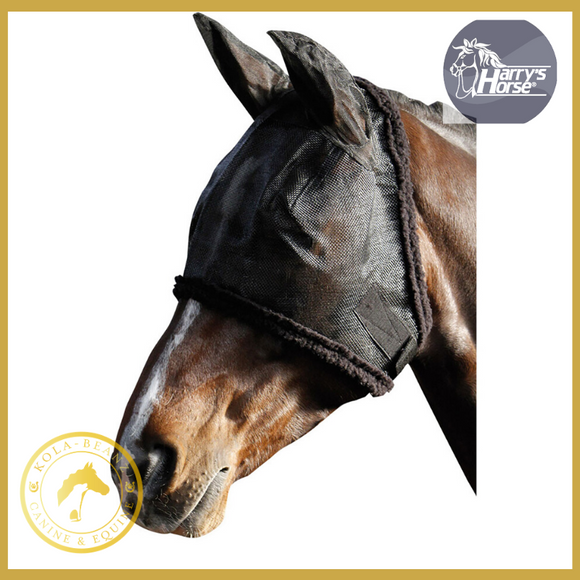 Harrys Horse Full Mesh Fly Mask - Horse Fly Masks