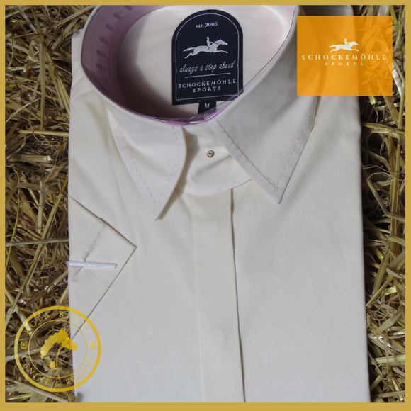 Schockemohle Cream Show Shirt - Show Shirt Competition Hunting