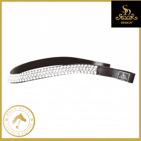 Navarone Browband - Brown - Browbands