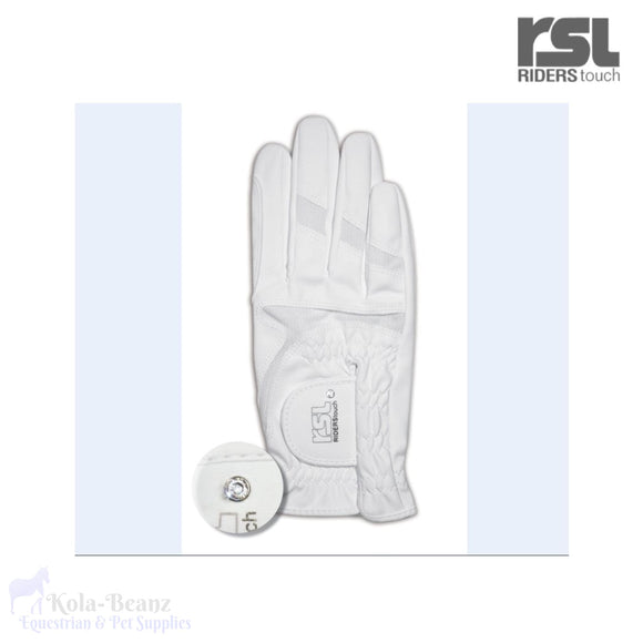 Rsl Rotterdam Star Riding Gloves - Gloves