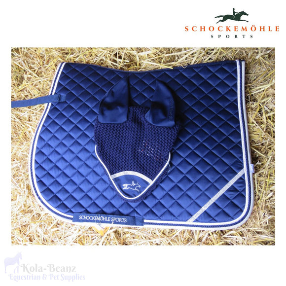Schockemohle 2 Piece Matching Set - Navy - Matchy Matchy