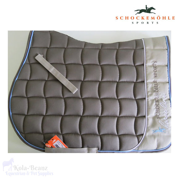 Schockemohle Action Pad S Style - Taupe - Saddlecloths Saddle Pads