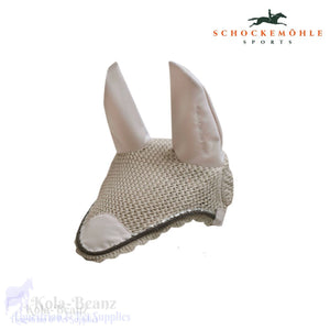 Schockemohle Chrome Fly Veil - Sandpearl