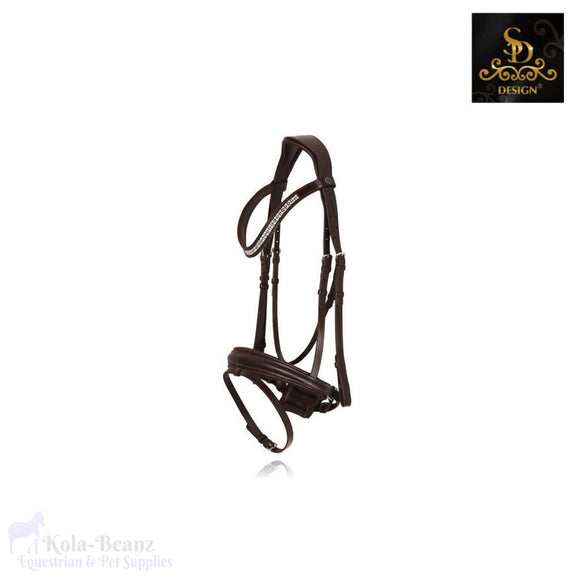 Sd Design Furstina Bridle - Brown - Anatomic Bridles