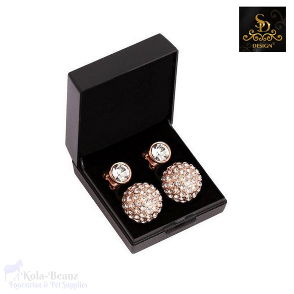Sd® Diamond Earrings - Rose Gold - Ladies Earrings