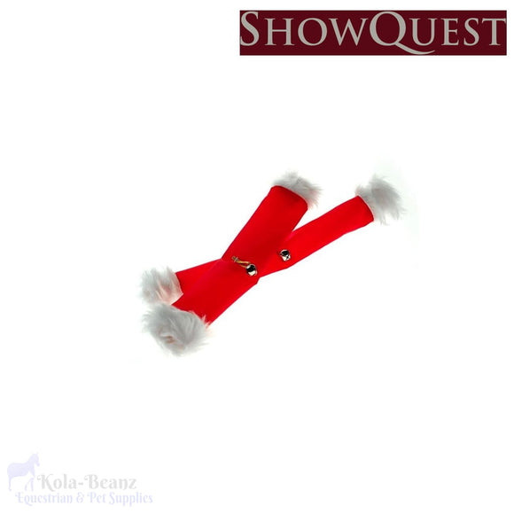 Showquest Christmas Rein Sleeves - Christmas
