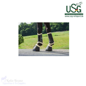 Usg Bell Boots With Fur - Over Reach