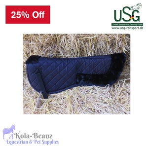 USG Fur Lined Half Saddle Pad - Half Saddle Pad