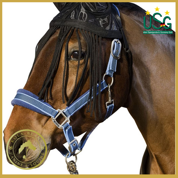 Usg Fly Veil With Ear Protector - Horse Fly Masks