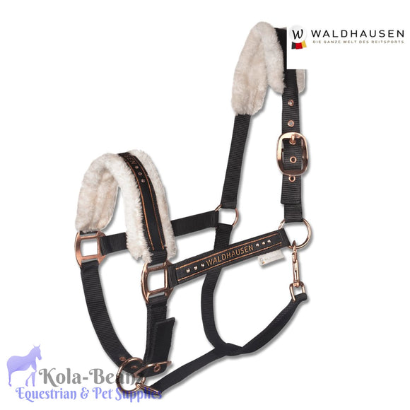 Waldhausen Rose Gold Fleece Headcollar - Anatomic Headcollar