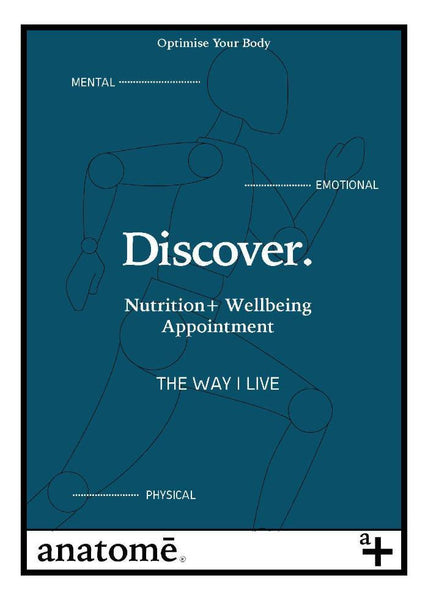 Discovery 'Way I Live' Nutrition + Wellbeing Appointments