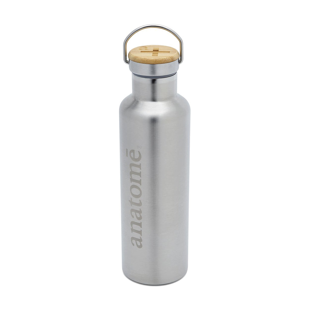 Stainless steel insulated double walled anatomē water bottle 750ml