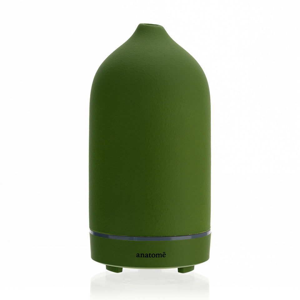 Green Ceramic Essential Oil Diffuser & Humidifier