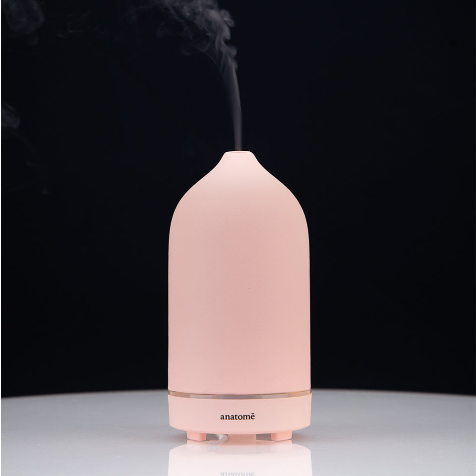 Coral Ceramic Essential Oil Diffuser & Humidifier