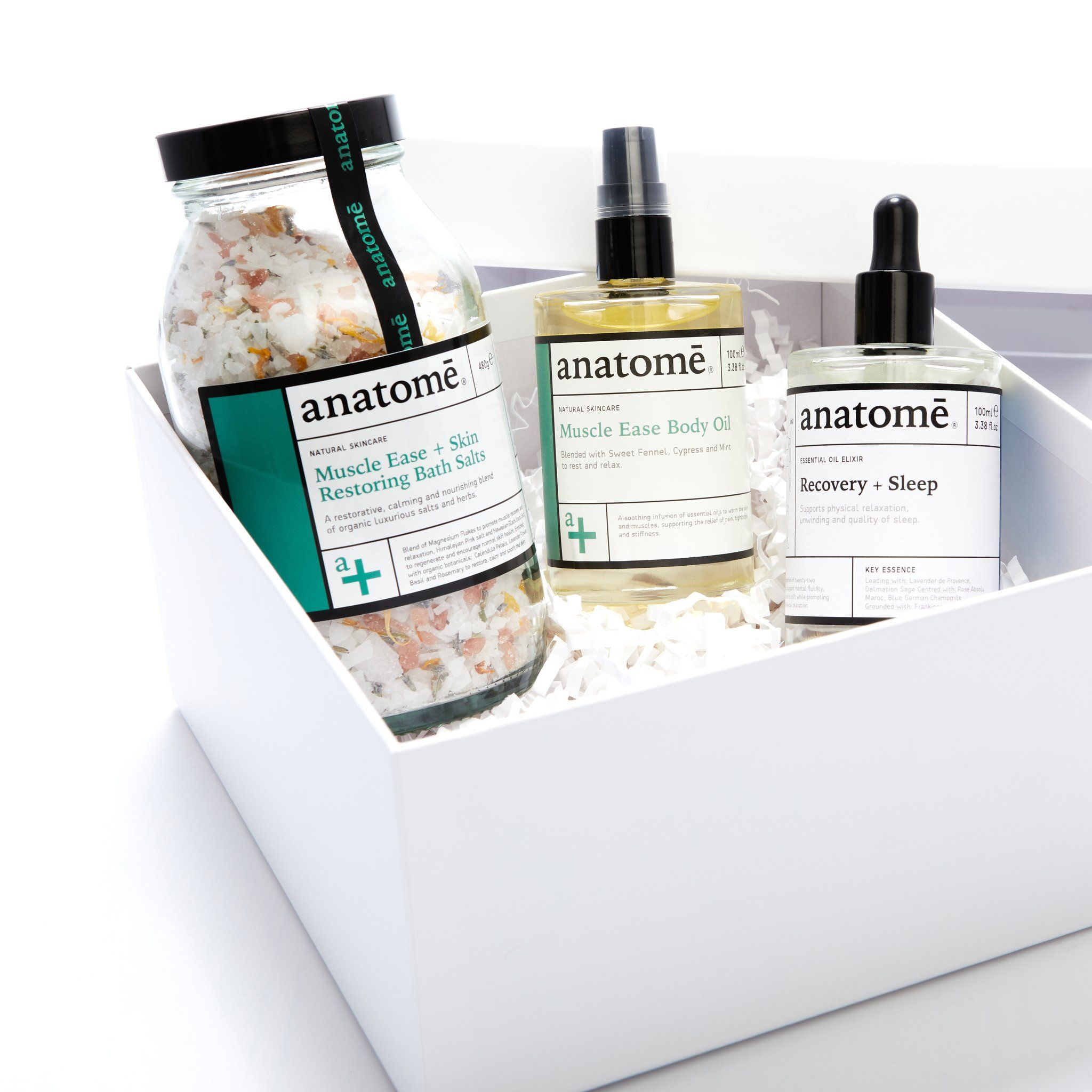 Muscle Ease + Recovery Gift Set - anatome