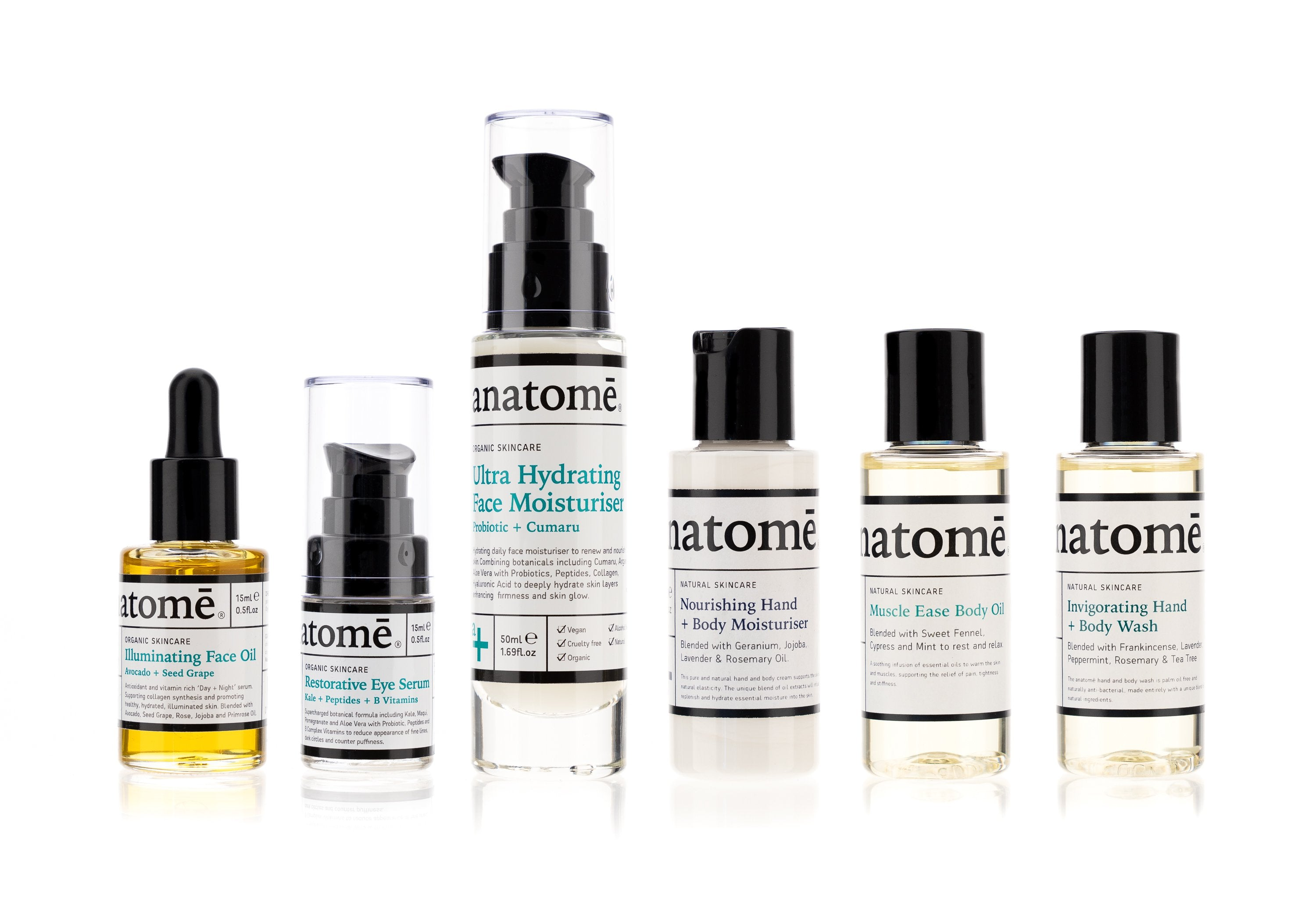 Skincare - Organic Skincare Care Travel Set