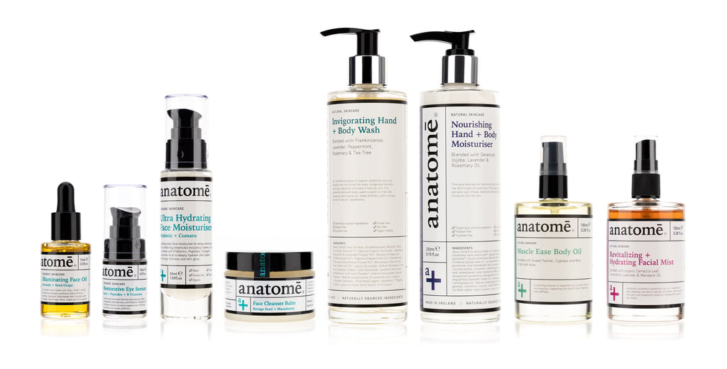 The Organic Skincare and Body Gift Set - anatomé