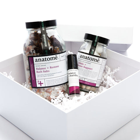 Women's Health: Anchoring Balance + Restore Gift Set - anatomé