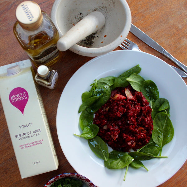 Recipe - Vegan Beetroot Risotto by Female First