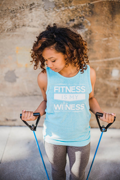 Fitness Is My Witness - Cross Training Couture
