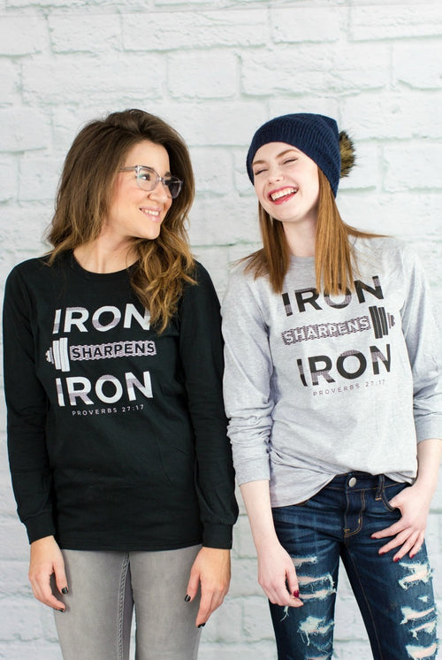 Unisex Iron Sharpens Iron Long Sleeve