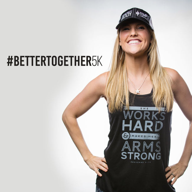 Better Together Virtual 5K - Cross Training Couture