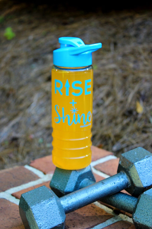 Rise + Shine Shaker Bottle