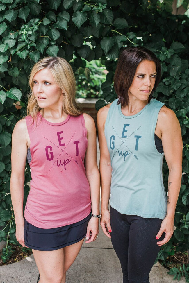 "Jesus said, ""Get Up!"", Muscle Tank - Cross Training Couture"