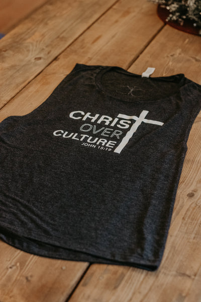 Christ Over Culture Muscle Tank