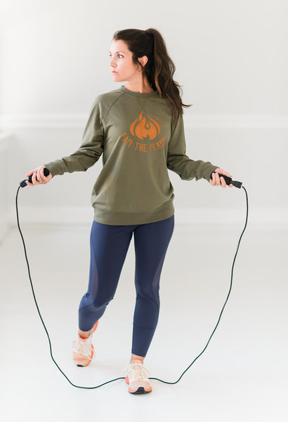Fan The Flame Pullover - Cross Training Couture