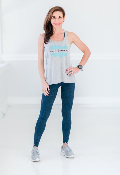 Sing A New Song Flowy Tank - Cross Training Couture