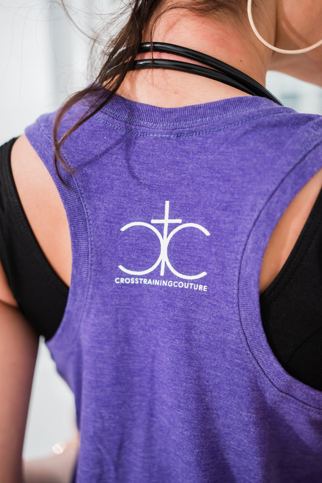 From Him Through Him For Him Tank - Cross Training Couture