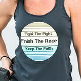 Finish The Race Performance Tank - Cross Training Couture