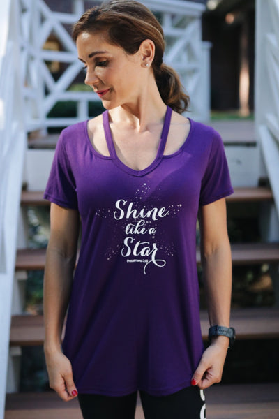 Shine Like A Star Tee - Cross Training Couture
