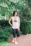 Trust Under His Wings Flowy Tank - Cross Training Couture