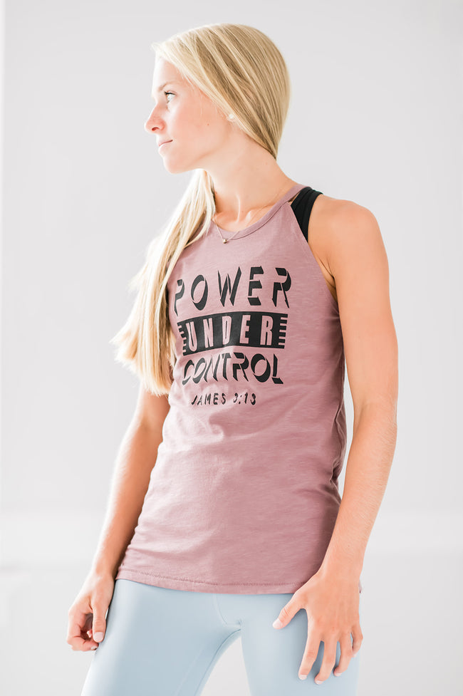 Power Under Control High Neck Tank