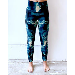Aqua Cream Angel Yoga Leggings