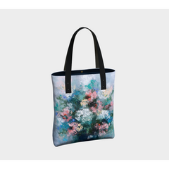 Beach Tote  - Blue Bouquet
